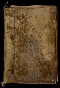 MGT, ms 40, t. 7, plat supérieur de la reliure.