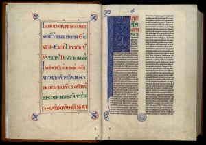Grande Bible de Clairvaux, en cinq volumes