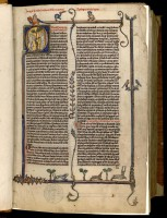 Vincent de Beauvais, Miroir historial. MGT, ms 170, f. 1r.