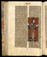 Sermons sur le Cantique des Cantique de saint Bernard Ms. 45, t. 1, f. 2 ; Postilles de Nicolas de Lyre Ms 400 f. 67v