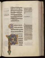 Epîtres de Paul glosées du prince Henri. XIIe s.