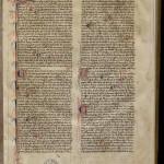 Henri de Gand, Quodlibeta. MGT, ms. 662, f. 1.