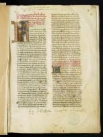 Jean de Torquemada, Commentaire de la Règle de saint Benoît. Ms. 166, f. 1r.