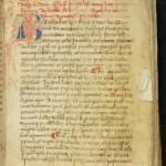 : Livre utilisé par l'abbé de Clairvaux pour les visites aux abbayes filles. MGT, ms. 2045, f. 91.