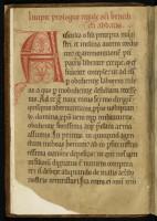 Règle de saint Benoît. MGT, ms. 638, f. 1v,