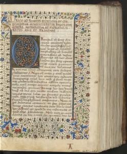 Cicéron, Œuvres. Montpellier, BU méd., H 359, t. 1, f. 1r.