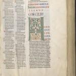 Isidore de Séville, Collection de canons. Montpellier, BU, Médecine, H3, t. 1, f. 6r.