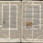 Corpus juris civilis, Primum volumen. Montpellier, BU, Médecine, H8, f. 10v-11r.