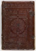 Reliure romane, manuscrit du Prince Henri Ms 1023bis plat sup.