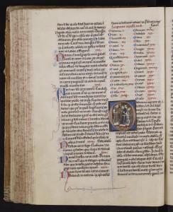 Garnier de Rochefort, Distinctiones. MGT, ms. 392, f. 99v.
