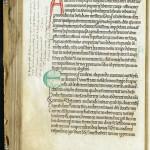 Règle de saint Benoît. Troyes, MGT, ms. 591, f. 66v.