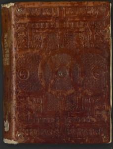 Un des manuscrits du prince Henri, envoyé à la bibliothèque de l'école de Médecine après 1804. Montpellier, BIU, bib. Méd., H155, f. 1.
