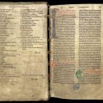 Début du troisième volume du grand légendier de Clairvaux en sept volumes. MGT, ms 1, f. 1.