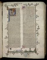 Commentaire sur les Sentences de Pierre de Ceffons, moine de Clairvaux et maître de théologie. MGT, ms. 62, f. 1.