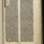 Florilège des œuvres de saint Bernard composé par Guillaume de Montaigu, moine de Clairvaux, XIIIe siècle. MGT, ms. 497 f. 1.
