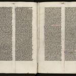 « Manicule », petite main dessinée en marge signalant un passage important. MGT, ms. 979, f. 16