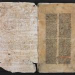 Début de l'exemplaire à l'usage du bibliothécaire du catalogue de 1472. MGT, ms. 2299, f. 1.