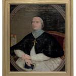 Potrait de Dom Rocourt, dernier abbé de Clairvaux. MGT